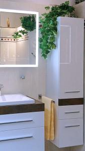 Waschtisch, Unterschrank, Becken & Hochschrank